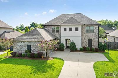 Prairieville Single Family Home For Sale: 16562 West Lake Dr