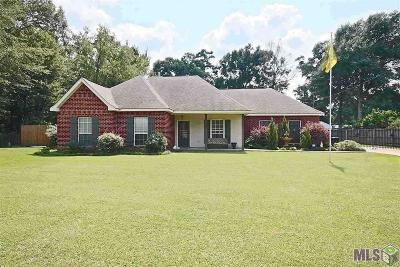 Prairieville Single Family Home For Sale: 43169 La Hwy 933