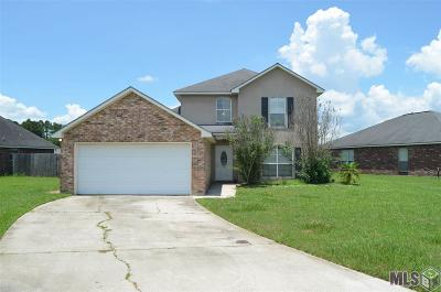 Denham Springs Single Family Home For Sale: 23696 Springhill Dr