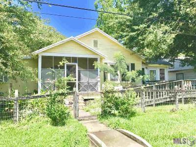 Donaldsonville Single Family Home For Sale: 212 W 5th St
