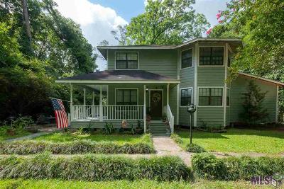 Zachary Single Family Home For Sale: 12714 Milldale Rd
