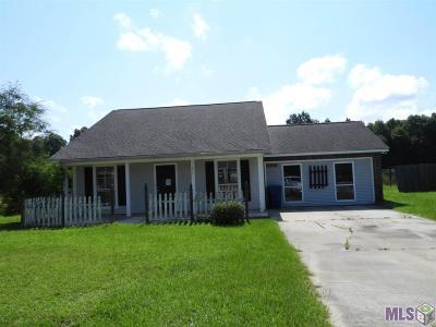 Denham Springs Single Family Home For Sale: 36234 Lynchburg Dr