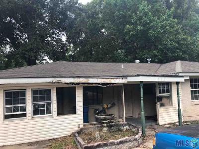 Denham Springs Single Family Home For Sale: 1229 Kline St