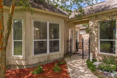 Gonzales Single Family Home For Sale: 5510 Courtyard Dr