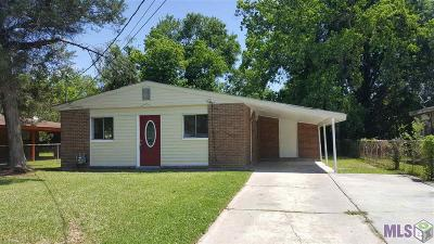 Baton Rouge Single Family Home For Sale: 12254 Leonidas Dr