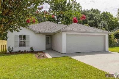 Prairieville Single Family Home For Sale: 18634 White Oak Dr