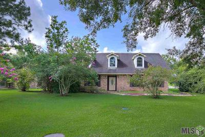 Gonzales Single Family Home For Sale: 13206 Leon Geismar Sr Rd