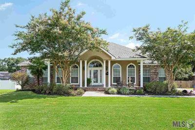 Prairieville Single Family Home For Sale: 43539 Galvez Oaks Dr