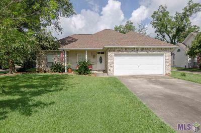 Prairieville Single Family Home For Sale: 17075 Hunters Trace St W