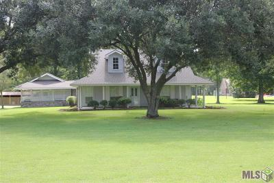 Prairieville Single Family Home For Sale: 37611 Southwood Village Ave