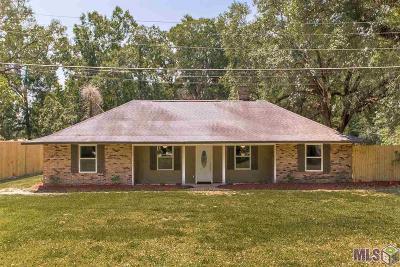 Prairieville Single Family Home For Sale: 18338 Pin Oak Ln