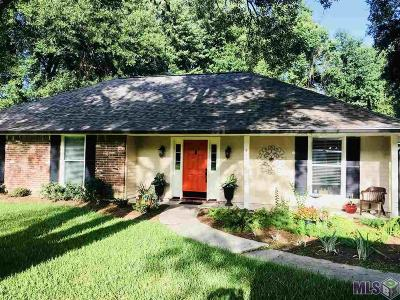 Zachary Single Family Home For Sale: 5470 Fairway Dr