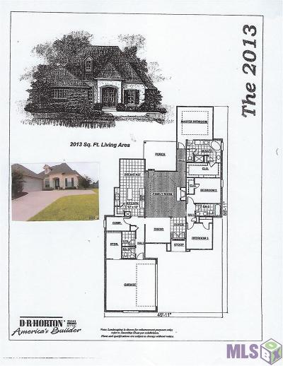 Zachary Single Family Home For Sale: 4306 Hidden Pass Dr