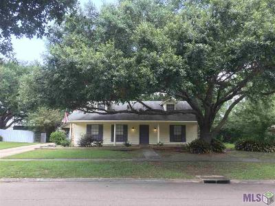 Zachary Single Family Home For Sale: 5635 Tee Dr