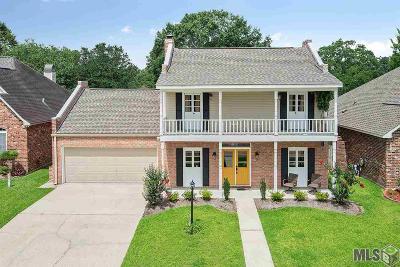 Denham Springs Single Family Home For Sale: 25883 Audubon Dr
