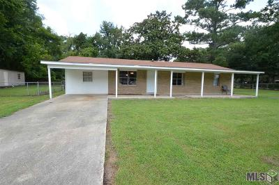 Gonzales Single Family Home For Sale: 13033 Rood Rd