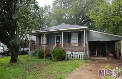 Denham Springs Single Family Home For Sale: 25567 Rosedown Dr
