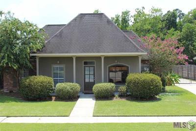 Denham Springs Single Family Home For Sale: 9160 Rue De Fleur