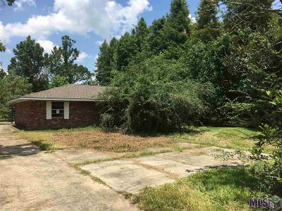 Gonzales Single Family Home For Sale: 42338 Church Point Rd