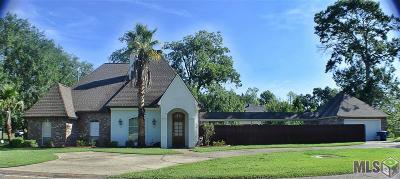 Prairieville Single Family Home For Sale: 37202 Overland Trail