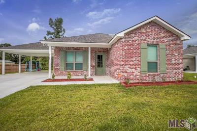 Denham Springs Single Family Home For Sale: 10930 Ray Dr