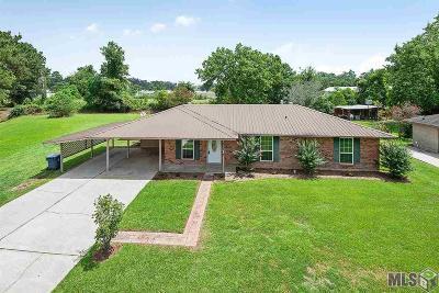 Denham Springs Single Family Home For Sale: 873 Rushing Rd