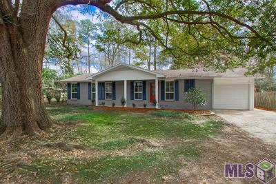 Denham Springs Single Family Home For Sale: 306 Carpenter St