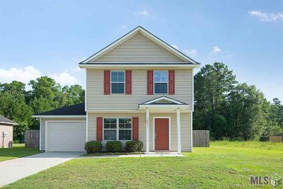 Denham Springs Single Family Home For Sale: 12923 Hazlewood Dr