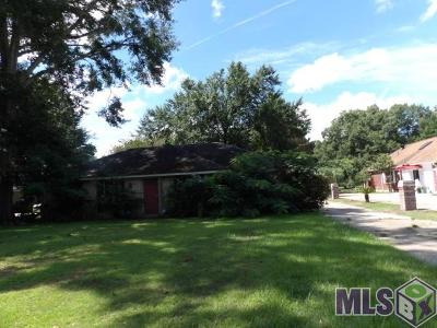 Zachary Single Family Home For Sale: 3850 Pope Rd