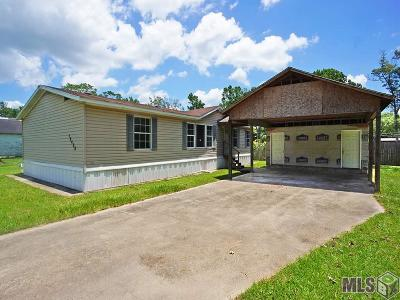 Prairieville Single Family Home For Sale: 15458 Shirley Dr