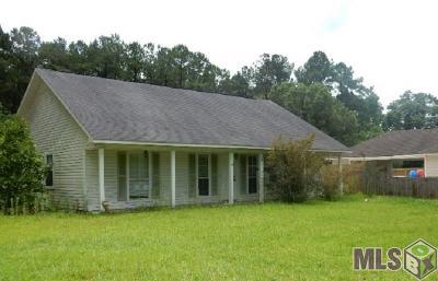 Denham Springs Single Family Home For Sale: 30942 Linder Rd