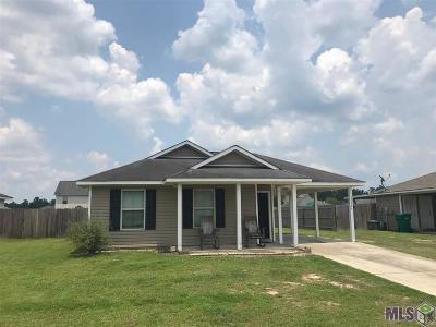 Denham Springs Single Family Home For Sale: 35004 Quail Creek Dr