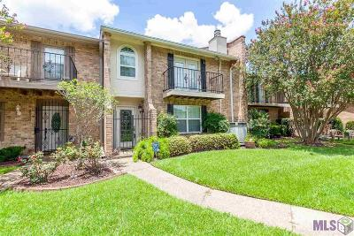 Baton Rouge Condo/Townhouse For Sale: 2523 Berrybrook Dr