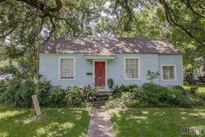 Baton Rouge Single Family Home For Sale: 1719 Pickett Ave