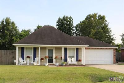 Denham Springs Single Family Home For Sale: 35037 Pascal Dr