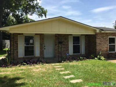 Baton Rouge Single Family Home For Sale: 6188 Shiloh St