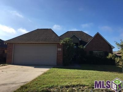 Denham Springs Single Family Home For Sale: 11406 Meadow View Dr