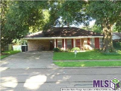 Baton Rouge Single Family Home For Sale: 1650 Madras Dr