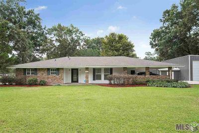 Denham Springs Single Family Home For Sale: 8753 Wesley