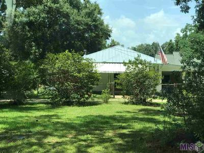 Denham Springs Single Family Home For Sale: 10419 Springfield Rd