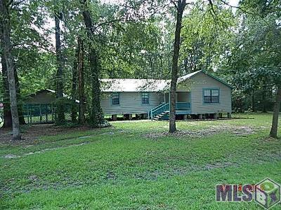 Prairieville Single Family Home For Sale: 18718 Ducros Rd