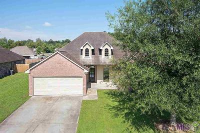 Denham Springs Single Family Home For Sale: 22443 Newport Dr