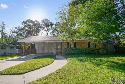 Baton Rouge Single Family Home For Sale: 6967 Menlo Dr