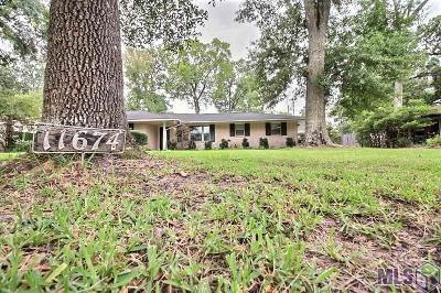 Baton Rouge Single Family Home For Sale: 11674 Archery Dr
