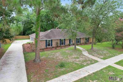 Baton Rouge Single Family Home For Sale: 12368 Brookshire Ave