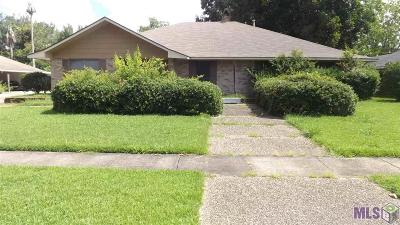 Baton Rouge Single Family Home For Sale: 12423 Excalibur Ave