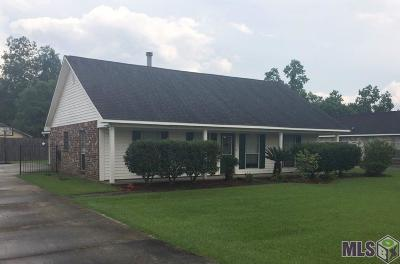 Prairieville Single Family Home For Sale: 16464 Charles Gonzales Rd