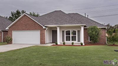 Denham Springs Single Family Home For Sale: 8718 Sweetbriar Ct