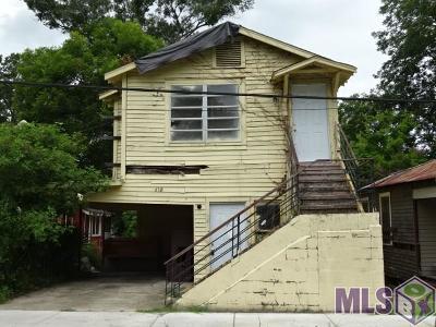 Baton Rouge LA Multi Family Home For Sale: $19,800
