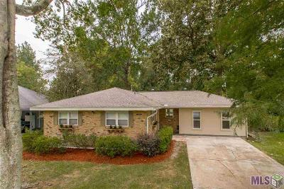 Baton Rouge Single Family Home For Sale: 10158 Oliphant Rd